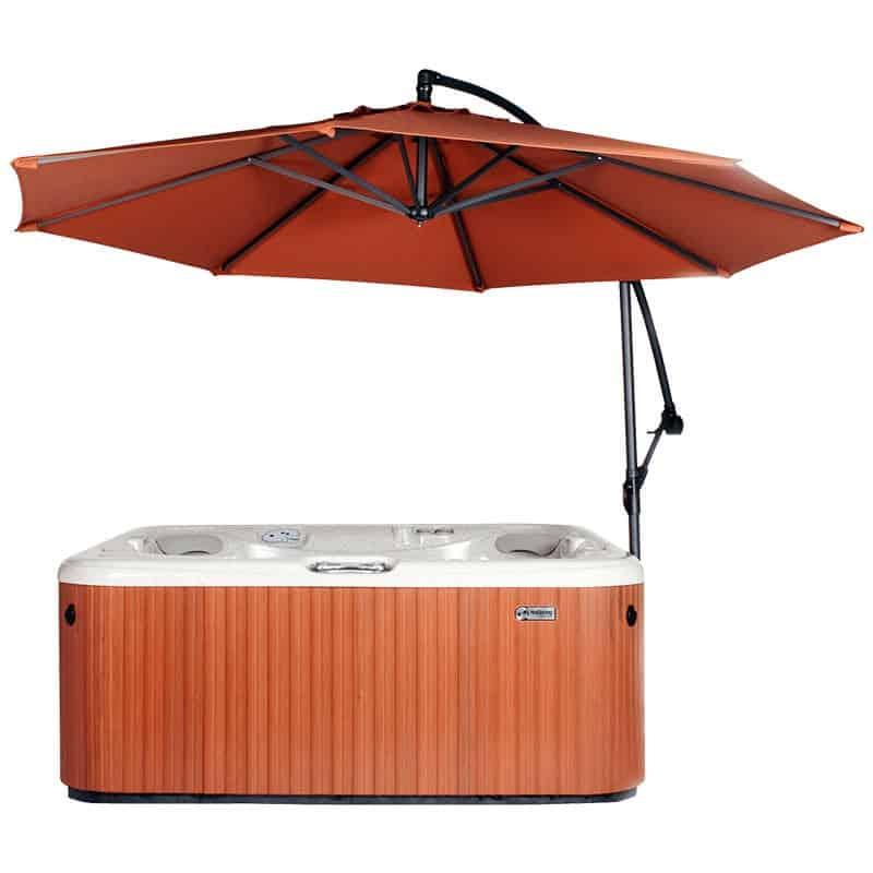 Spa Side Umbrella Rust