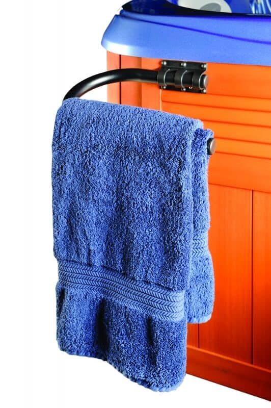 Towel Bar with Towel