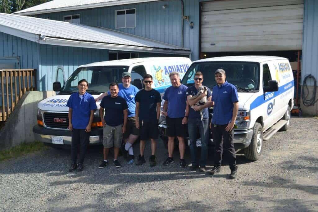 aquafunpools service team